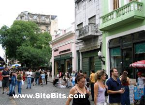San Telmo: Plaza Dorengo