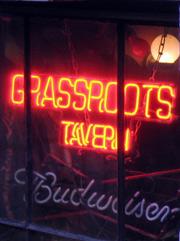 Grassroots Tavern Sign
