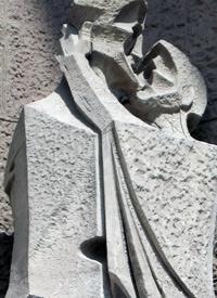Sagrada Familia Façade: Kiss