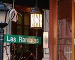 Las Ramblas Sign