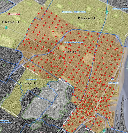 Bixi Montreal Map BIXI: Bike, Taxi, Montreal