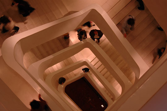 Caixa Forum Madrid: staircase