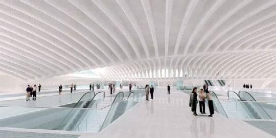 Calatrava: Hub - Inside