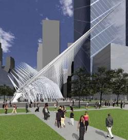 Calatrava: Hub - Outside