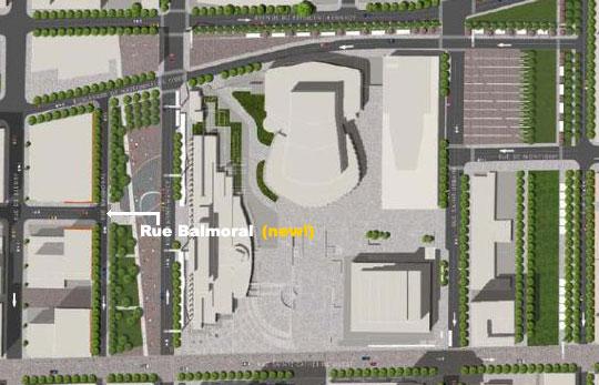 Place des Arts Map