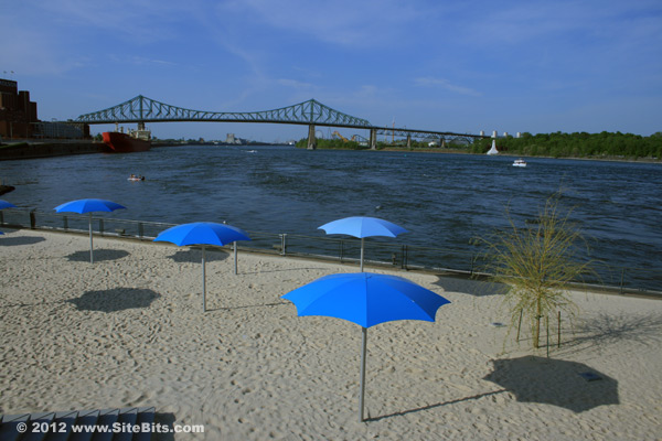 Montreal Plage (view)