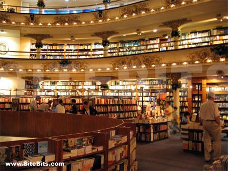 El Ateneo Store in Buenos Aires