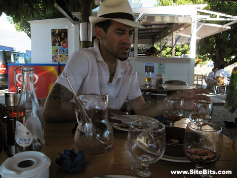 Café in Cadaqués