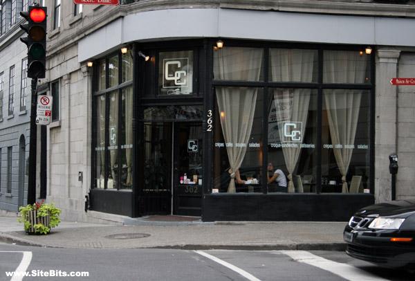 Café Crêpe: Exterior, Montreal