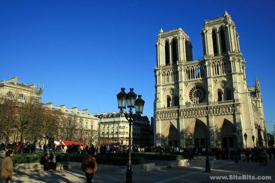 Notre Dame de Paris: Western Façade (Notre Dame de Paris) | SiteBits
