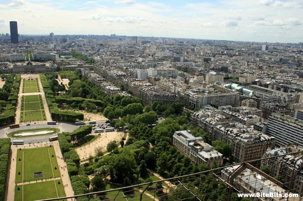 View Of The 15th Arrondissement Paris