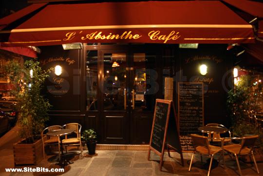 L'Absinthe Café (Paris): Exterior