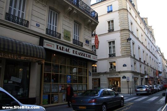 Rue St-Augustin at Rue de Choiseul