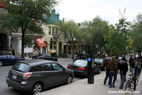 Quartier Latin, rue St-Denis