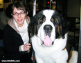 Westminster Dog Show: The Author with Riley