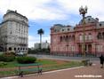 Plaza de Mayo. Casa Rosada.