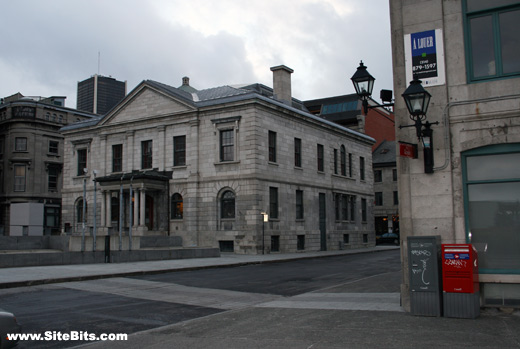 Old customs house montreal for Classic house 2006