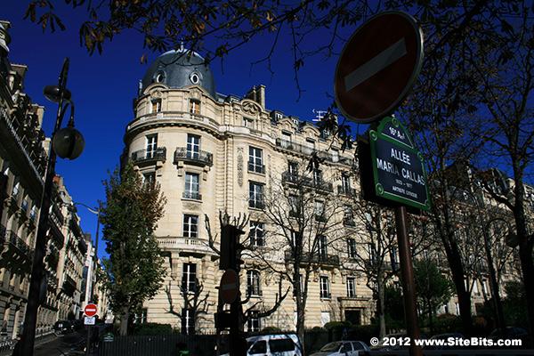 All e maria callas avenue georges mandel paris - Avenue georges mandel ...