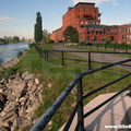 Redpath Lofts Fence, Canal Lachine(thumb)