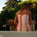 Girl, Dog, Park, Madrid(thumb)