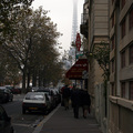Avenue de Saxe, View Toward the Eiffel Tower(thumb)
