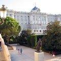 Jardines de Sabatini: View of Palacio Real(thumb)