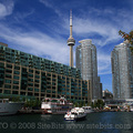 Harbourfront Centre and CN Tower(thumb)
